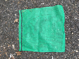 Close Woven Net Bags for Firewood or Vegetable packing
