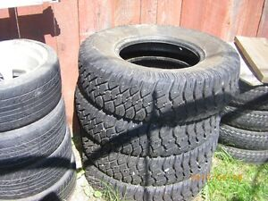 4 MATCHING BRAND NEW TIRES RADIALS LT235/85R16