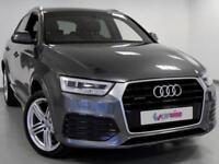 2015 Audi Q3 2.0 TDI Quattro S Line Plus 5dr S Tronic Diesel grey Automatic