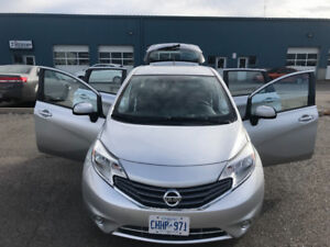 2014 NISSAN VERSA NOTE SV. CERTIFIED & ETESTED WITH WARRANTY