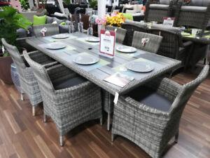 Resin Wicker Dining Set