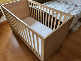 Stretton Cot Bed with mattress included