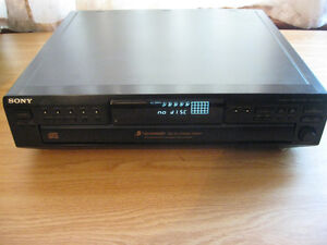 Sony  5 CD Stereo Component for Home ,Garage , Man cave $50.00 Cambridge Kitchener Area image 2