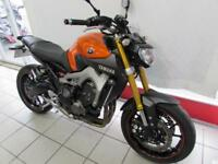 YAMAHA MT-09 ABS, 14 REG WITH AKRAPOVIC EXHAUST, TAIL TIDY, FRAME SLIDERS...