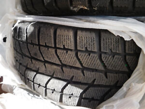 Tires - 4 all season, 4 winters on rims, and 4 wheel covers