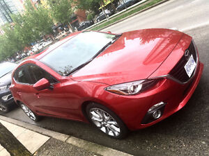 2015 Mazda 3 Sport GT Lease Takeover (1 yr)