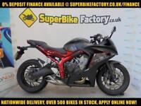 2016 66 HONDA CBR650F 650CC 0% DEPOSIT FINANCE AVAILABLE