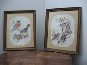 Vintage Paul Whitney Hunter framed prints Prince George British Columbia image 3