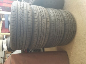 Tires and Rims.  215/60R15.  Five Bolt.