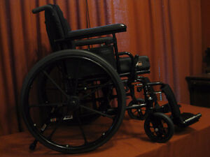 Folding wheelchair Extremely Comfortable take payments sanitized