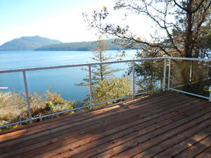 Spectacular oceanfront views in Maple Bay