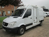 2011 61-REG Mercedes-Benz Sprinter 313CDI MWB FREEZER DEEP FRIDGE -30 DEGREES