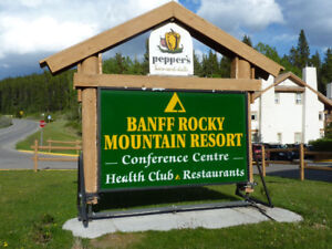 Banff Rocky Mountain Resort ( seven days relax in Banff)