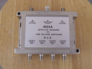 Two 4 Way Multi-Switches, part # 4684A