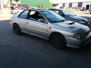 Parting out subaru 2.5rs coupe