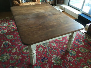 Antique Coffee Table, Country French Hutch + Moving Sale