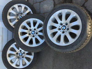 BMW winter tires-like new