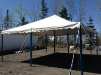 Commercial tent 20x20