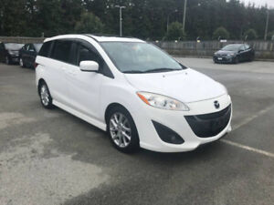 2012 Mazda5 GT-LUXURY FULLY LOADED **CLEAN CAR**125KM**