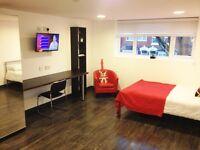 Studio flat in 183 Gristhorpe - C4 HMO ENSUITE BEDROOMS