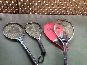 Tennis or Squash or Racketball  rackets: