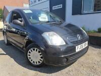 CITROEN C2 DESIGN Black Manual Petrol, 2006