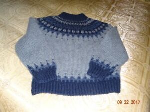 Handknit Sweater Size Small