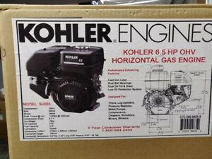 Kohler 196cc 6.5HP Horizontal Engine, Honda GX200 Clone