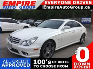 2008 MERCEDES-BENZ CLS-CLASS CLS63 AMG * LEATHER * SUNROOF * NAV