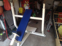 Bench press olympique
