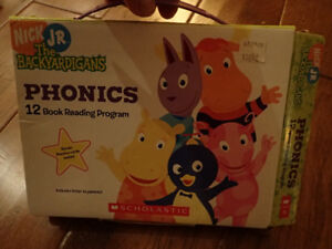The Backyardigans phonics books