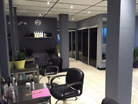chair rental available in newly renovated modern salon