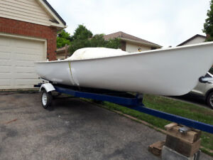 Sailboat and Trailer