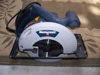 HEAVY DUTY CIRCULAR SAW WITH NEW BLADE