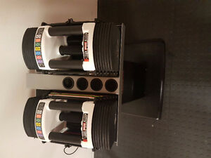 PowerBlock Urethane U-90 Stage 1 Set 5-50 Lbs with PowerBlock Sp