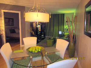BEAUTIFUL FURNISHED CONDO - DOWNTOWN / CONDO TOUT MEUBLÉ