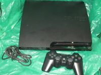 SLIM PS3 120 GB with 5 Games and Genuine Sony controller