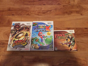 Wii Games - Two games $20 and one for $10 or $40 for all 3