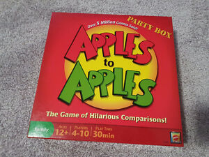 APPLES TO APPLES FAMILY PARTY BOARD GAME - $17 obo