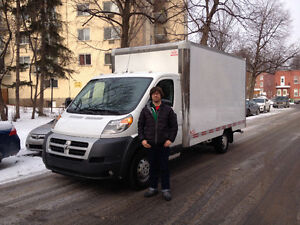 MOVING from 75$/h=2 movers+truck. 514 224 7907  Visa/MC. West Island Greater Montréal image 1