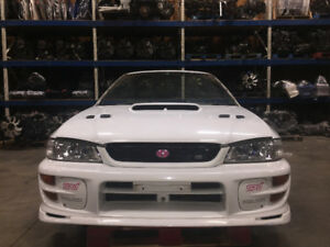 jdm wrx sti gc8 , version 6 complet front end conversion