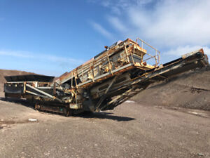 2010 Terex 683 Supertrack Screener
