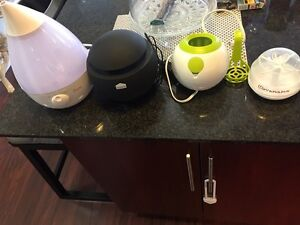 Humidifier, air purifier, bottle warmer & soother sterilizer