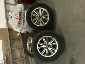 2005 mustang rims and tiers