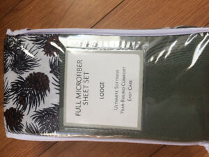 Double sheet set - brand  new