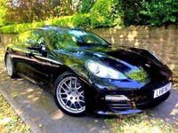 **IMMACULATE** 2011 PORSCHE PANAMERA D 3.0 V6 TIPTRONIC AUTO BLACK DIESEL