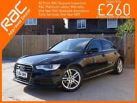 2014 Audi A6 2.0 TDI Turbo Diesel Ultra S Line 6 Speed Sat Nav Bluetooth DAB Ful