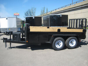 Dump Trailer, 6.6ft W X 12ft (7 TON)