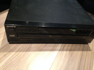 lecteur Sony 5 CD  Model CDP-C345