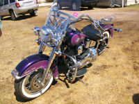 1995 HERITAGE  SOFTAIL ONLY  70 KM